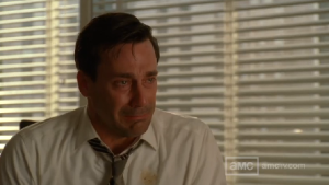 Me, after watching the Mad Men finale tomorrow